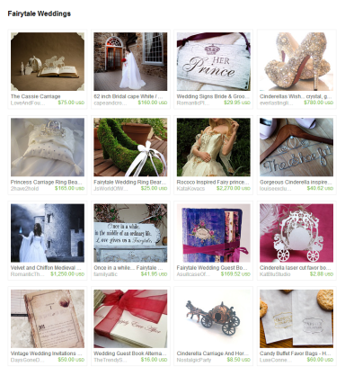 Fairytale Weddings by Jennifer Ferencz Barato on Etsy