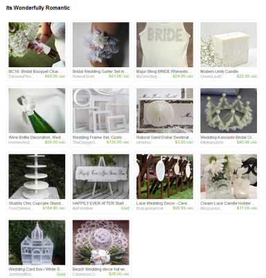 Its Wonderfully Romantic by Annie Farber on Etsy