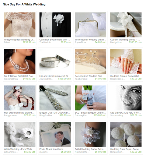Nice Day For A White Wedding by Jennifer Ferencz Barato on Etsy