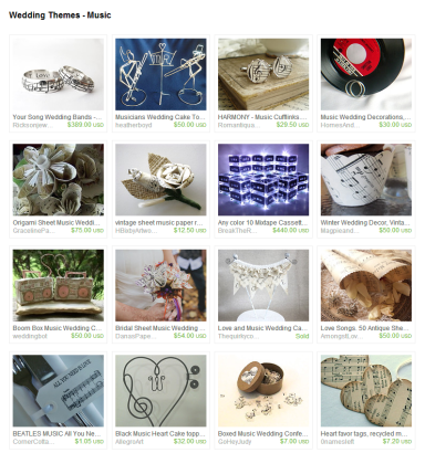 Wedding Themes   Music by Jennifer Ferencz Barato on Etsy