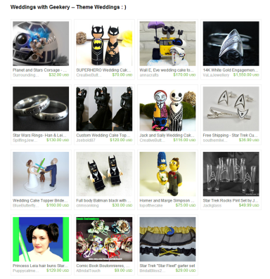 Weddings with Geekery    Theme Weddings     by Jennifer Ferencz Barato on Etsy