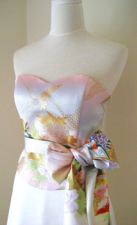 vintagekimonoweddingdress