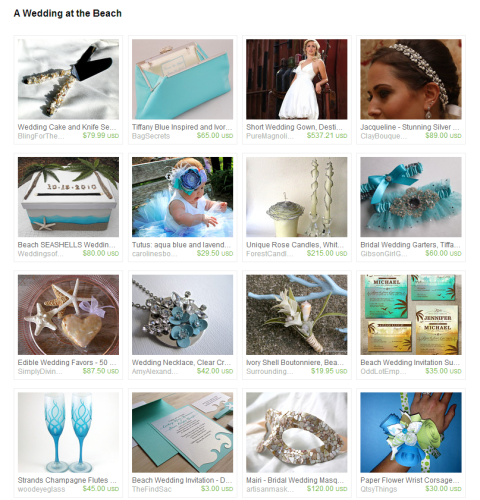 A Wedding at the Beach by Edi Royer on Etsy
