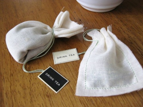 diy wedding favor tea bag