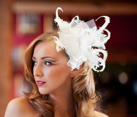 Wedding Feather Headpiece by Kristine Bridal