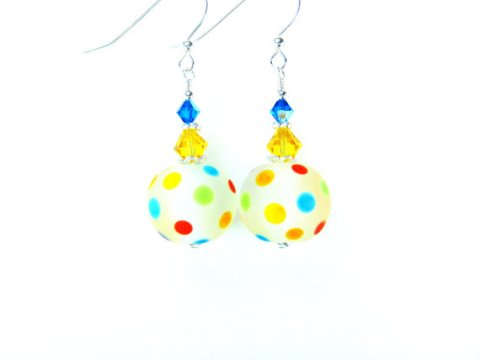 polkadotearrings