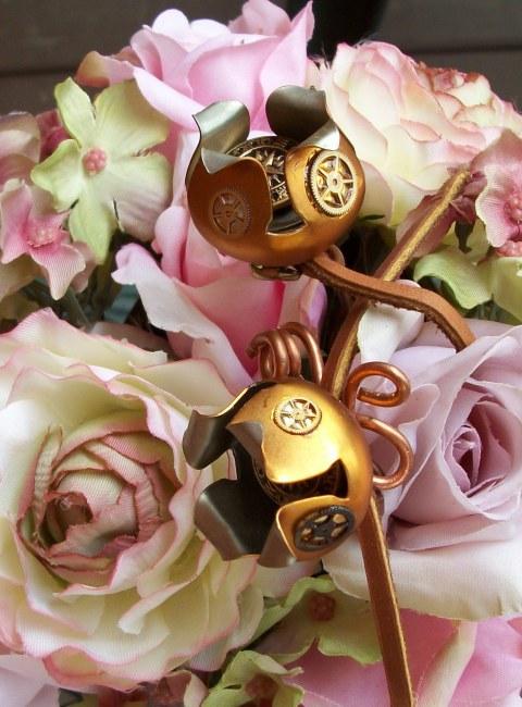 steampunk flowers