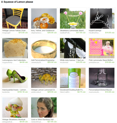 A Squeeze of Lemon please by Jodi on Etsy