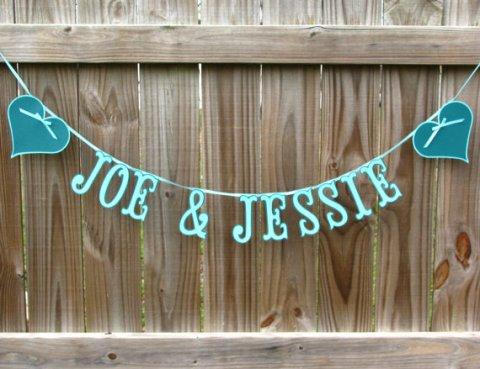 personalizedweddingbanner