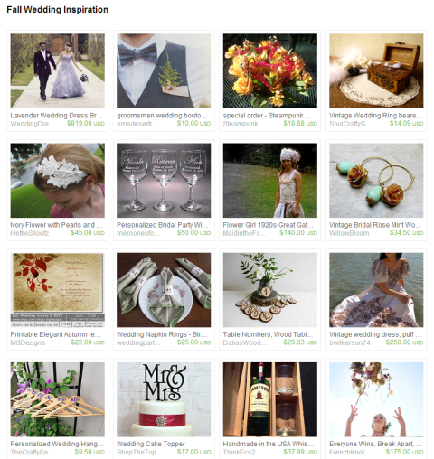 Fall Wedding collection by the Wed Eclectic team