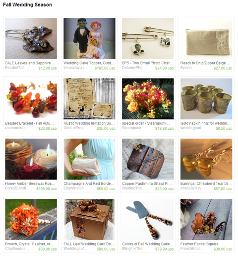 Fall Wedding Season by Edi Royer on Etsy