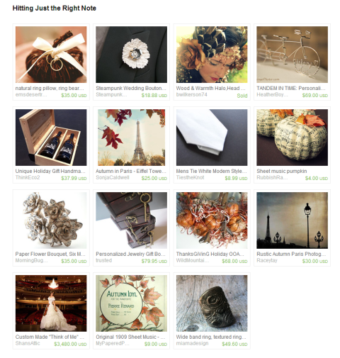 Hitting Just the Right Note by Amanda on Etsy