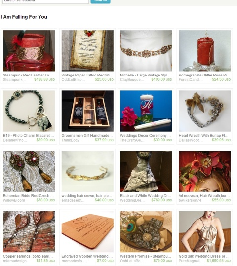 I Am Falling For You by Eva on Etsy