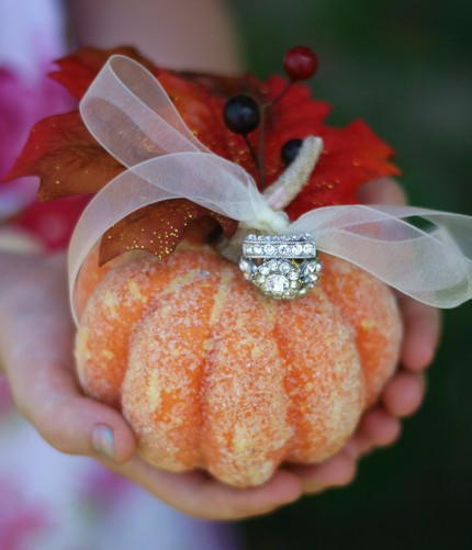 pumpkin ring holder