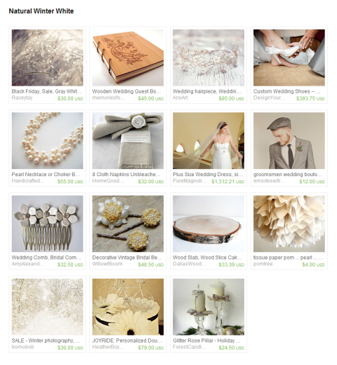 Natural Winter White by Amanda on Etsy