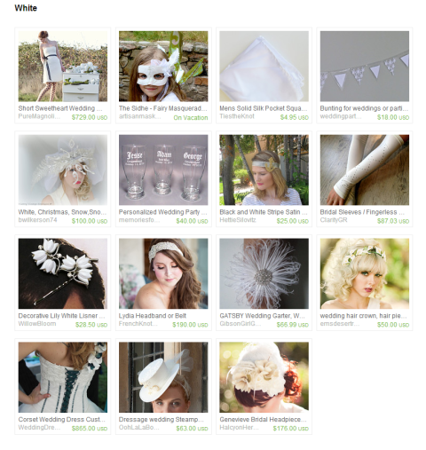 White by Keri O Hara on Etsy
