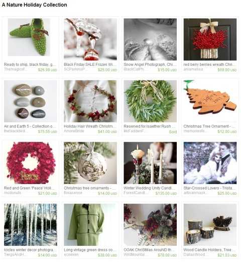 A Nature Holiday Collection by Keri O Hara on Etsy