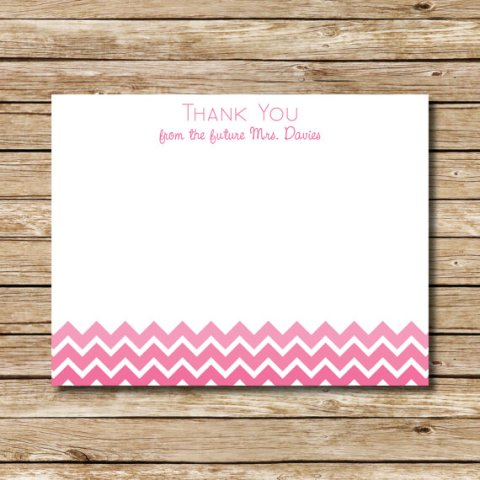 chevronthankyoucards