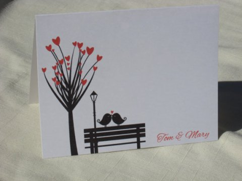 kissingbirdsthankyoucards