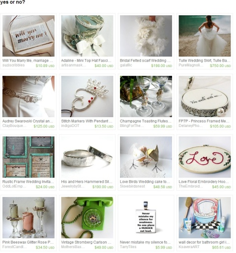 yes or no  by Angelika Holz on Etsy